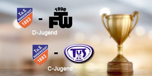 Gruppenliga-Aufstiegsspiele der D- und C- Jugend Fussball am 26.05.2018